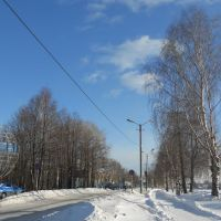 У плотины, Омутнинск