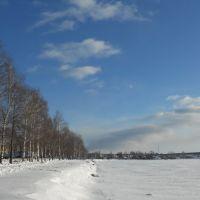 Набережная у пруда, Омутнинск