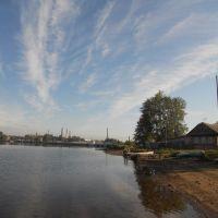 Вид на завод, Омутнинск