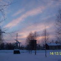 Зимнее небо в Опарино, Опарино