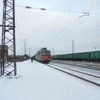 Электровоз переменного тока ВЛ80С-658 на станции Оричи, Оричи