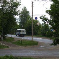 перекресток улиц Первомайская и Советская, Пижанка