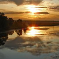 Вид по ту сторону моста, Санчурск