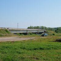 Мост через Большую Кокшагу, Санчурск