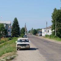 Вид по улице Ленина, Санчурск
