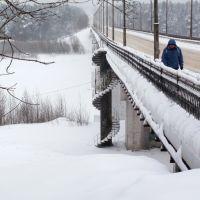 Январский мост через Вятку, Слободской