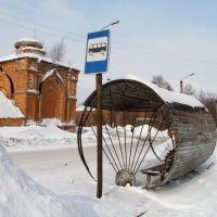 Цилиндр - остановка Христорождественский монастырь., Слободской