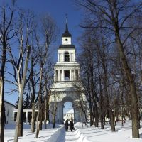 Спасская колокольня, вид с востока, Слободской