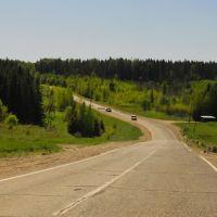 Холмистая дорога, Суна
