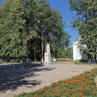 Площадь Славы в с. Тужа, Тужа