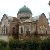 Заброшенная церковь поселке Уни, Уни
