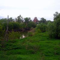 Окрестности Уржума река Уржумка, Уржум