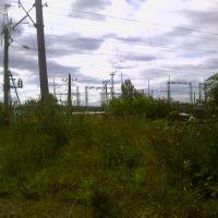 Вид на подстанцию с жд. 2006 год, Фаленки