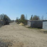 Окраина Фаленок, вид с бывшего переезда в Южное направление, Фаленки