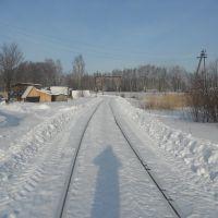 Ж/Д пути в сторону станции, Фаленки