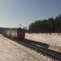 Грузовой поезд идет на север, Юрья