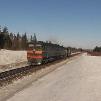 Рабочий поезд, Юрья