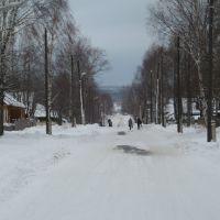 Юрья, зима, ул. Ленина, Юрья