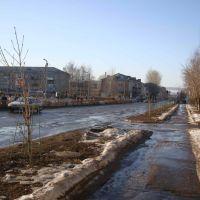 Вятские Поляны. ул. Гагарина. Весна 2010., Вятские Поляны