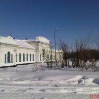 Ж.Д. Вокзал, Верхняя Инта, Верхняя Инта