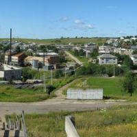 View from Morozovskaya hill, Визинга