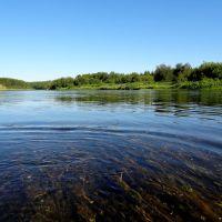 Река Ухта, Водный