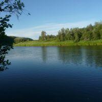 Река Ухта ниже пос. Водный, Водный