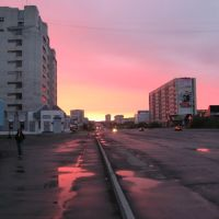 Розовая ночь полярным днём, Воркута