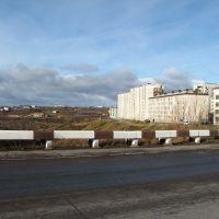 Вид с Дмитровской дамбы (октябрь), Воркута