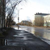 ул. Ленинградская (октябрь), Воркута