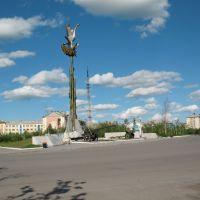 пл. Победы (июль 2008), Воркута