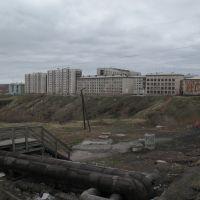 1. Вид с дамбы (Июнь 2008), Воркута