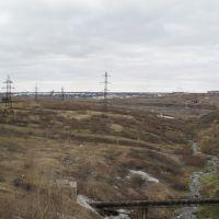 3. Вид с дамбы (Июнь 2008), Воркута