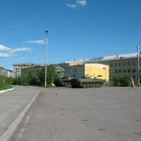 Площадь Победы, Воркута