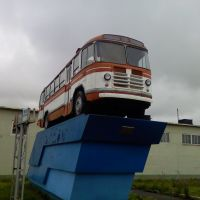 Первый рейсовый автобус в Воркуте, Воркута