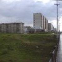 Воркута панорама города с моста, Воркута