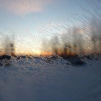Sunrise near Vuktyl, Вуктыл