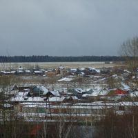 Емва с крыши школы №1, Емва