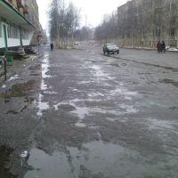 улица Горького осенью, Инта