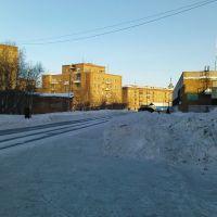 начало улицы Куратова, Инта