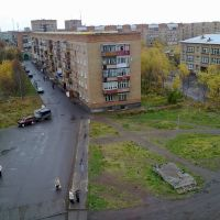С крыши. Воркутинская 12, Инта