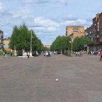 Площадь Ленина, Инта