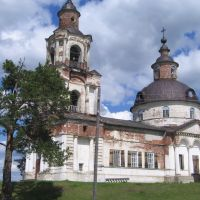 Церковь Святителя Дмитрия Ростовского (с.Кажым), Кажым