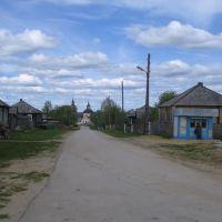 с.Кажым (ул.Молодёжная, вид от детского санатория), Кажым