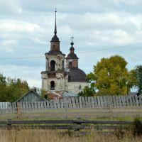Церковь Святителя Дмитрия Ростовского, село Кажым, Койгородский район, Республика Коми, Кажым