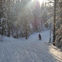 Лыжня, Кослан