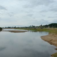 Luza river, Объячево