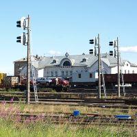 Печора. Железнодорожный вокзал, Печора