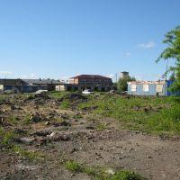 Пустырь на месте одного из зданий СОШ №65, Печора
