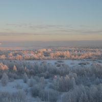 Зима вид из окна ., Печора